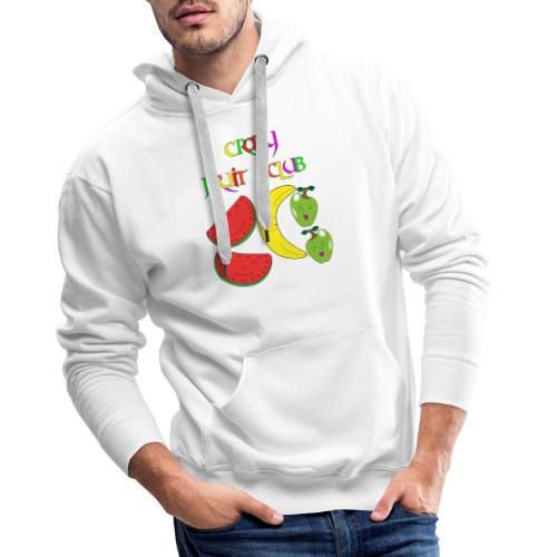 Crazy fruit club - Männer Premium Hoodie