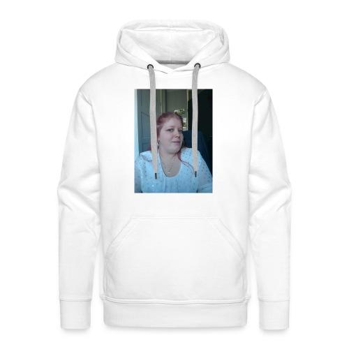 hier ben ik - Mannen Premium hoodie