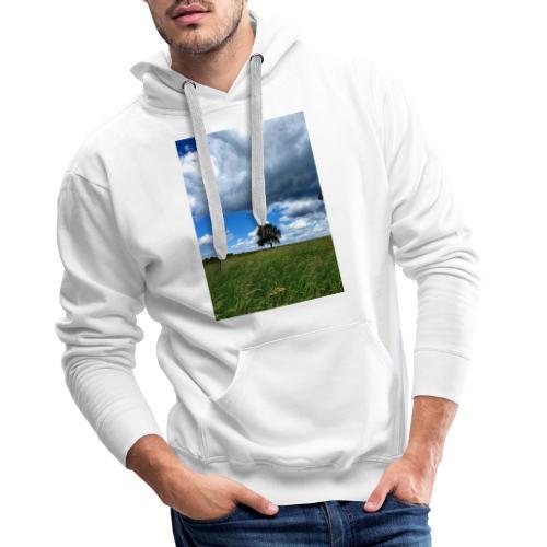 Der einsame Baum - Männer Premium Hoodie