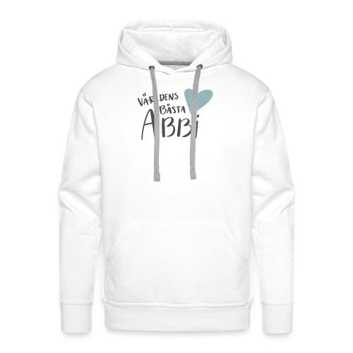 Världens bästa Abbi - Premiumluvtröja herr