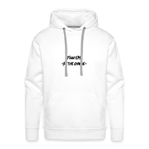 Finn EM Be the Change - Miesten premium-huppari