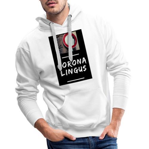 Corona Lingus - Sweat-shirt à capuche Premium pour hommes