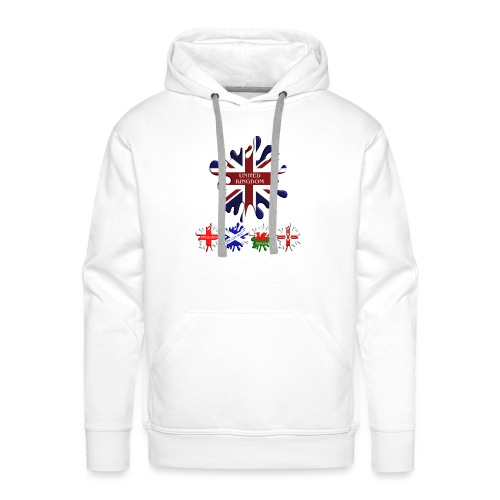 United Kingdom Flags - Men's Premium Hoodie