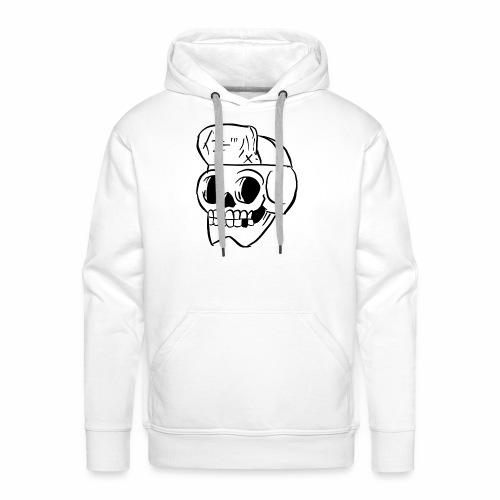 Skull Skeleton - Mannen Premium hoodie