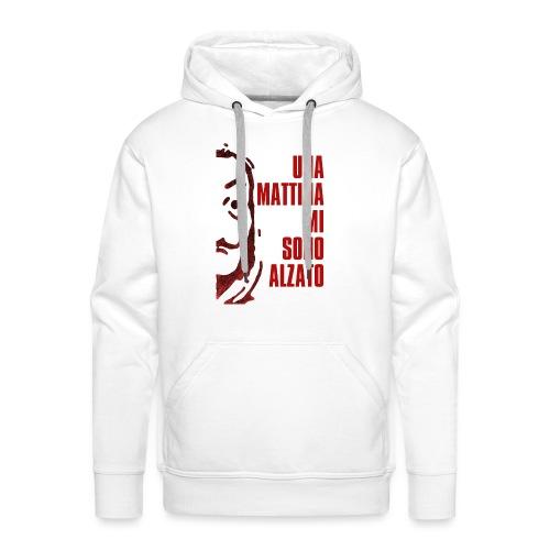 RESISTENCIA RED - Sweat-shirt à capuche Premium pour hommes