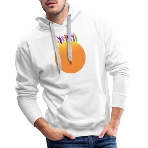 Soleil - Sweat-shirt à capuche Premium pour hommes