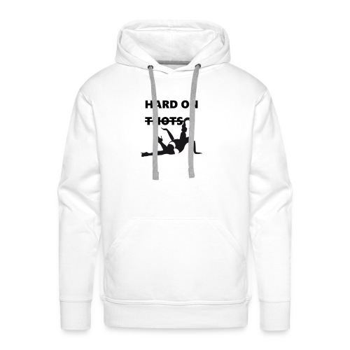 Hard on thots (censored) - Mannen Premium hoodie