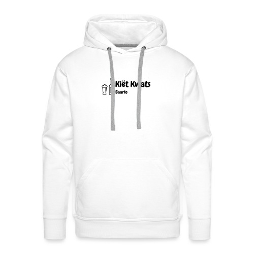 kietlogo_zwart - Mannen Premium hoodie