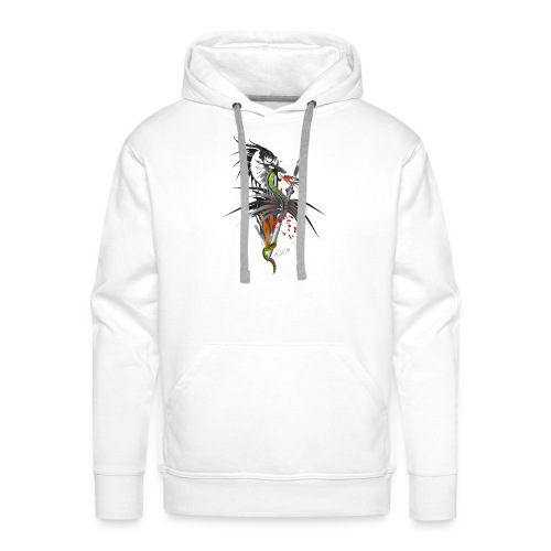 Dragon Sword - Drachenkampf - Männer Premium Hoodie