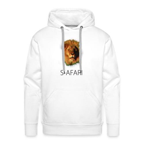 S-AFARI Lion - Men's Premium Hoodie