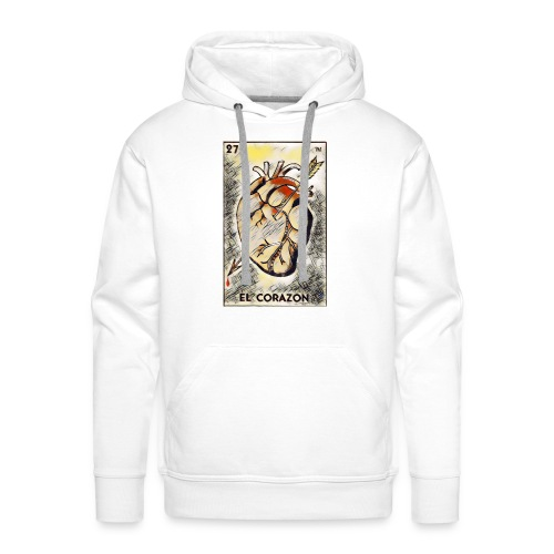 loteria mexicana - Mannen Premium hoodie