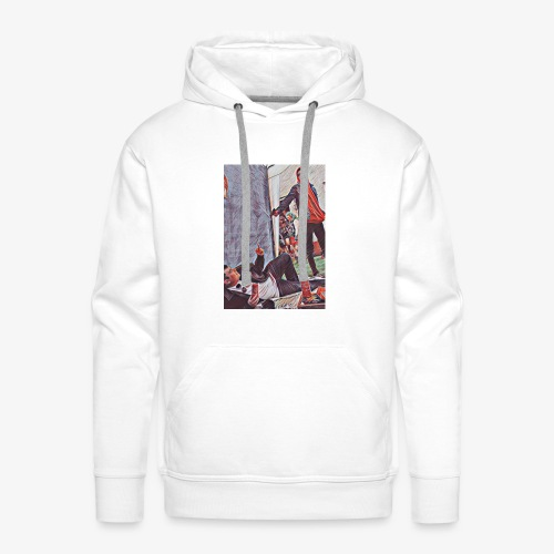 Don't mess with papa MarcelPlay Games - Men's Premium Hoodie