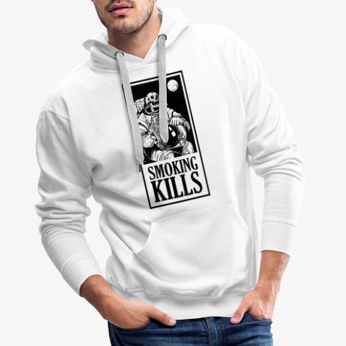 Smoking Kills - Herre Premium hættetrøje