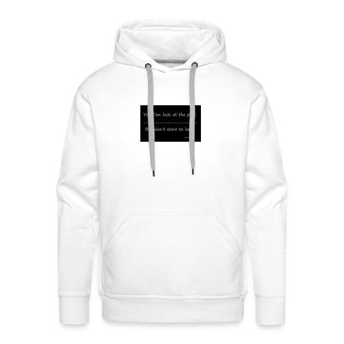 past - Mannen Premium hoodie