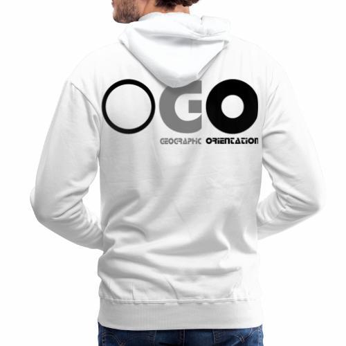 OGO-11A - Sweat-shirt à capuche Premium pour hommes