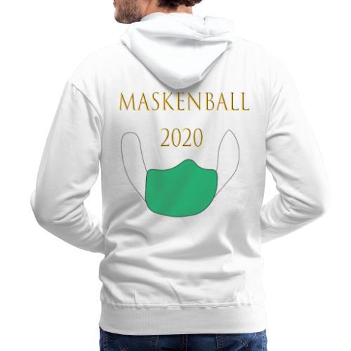 Maskenball 2020 - Männer Premium Hoodie