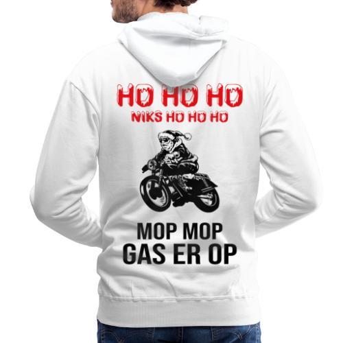 snelle kerstman - Mannen Premium hoodie