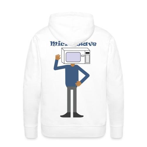Micro wave - Mannen Premium hoodie