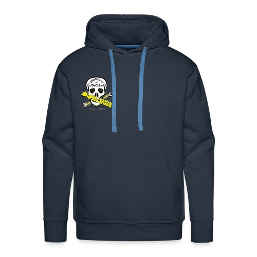 New Logo skull 5 gif - Männer Premium Hoodie