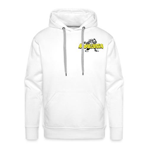 Logo Kater Schrift Vorlage gif - Männer Premium Hoodie