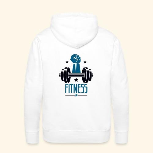 Fitness - Sudadera con capucha premium para hombre