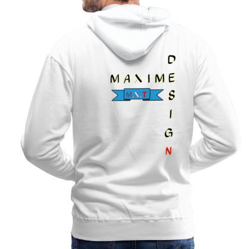 design MAIME M.X.T - Sweat-shirt à capuche Premium pour hommes