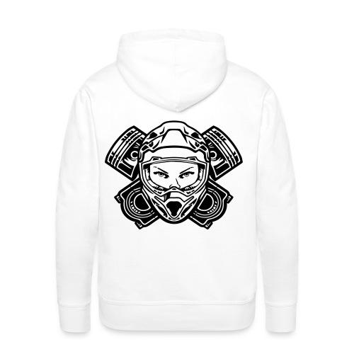 logo 2 print - Mannen Premium hoodie