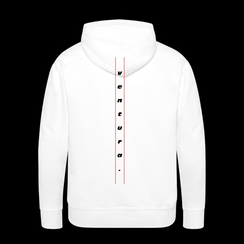 Ventura Back Logo - Mannen Premium hoodie