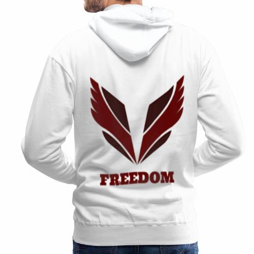 Freedom collection - Sweat-shirt à capuche Premium pour hommes