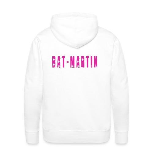 Bat-Martin (Logo Christ) - Sudadera con capucha premium para hombre