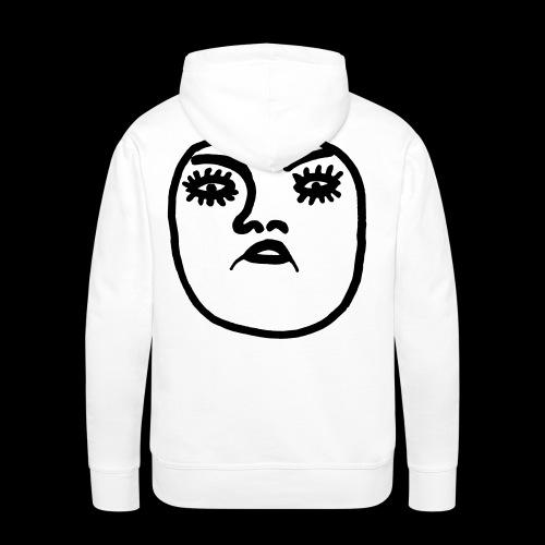 Uglyface - Männer Premium Hoodie