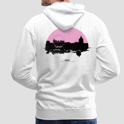 Toulouse Reflect - Sweat-shirt à capuche Premium pour hommes