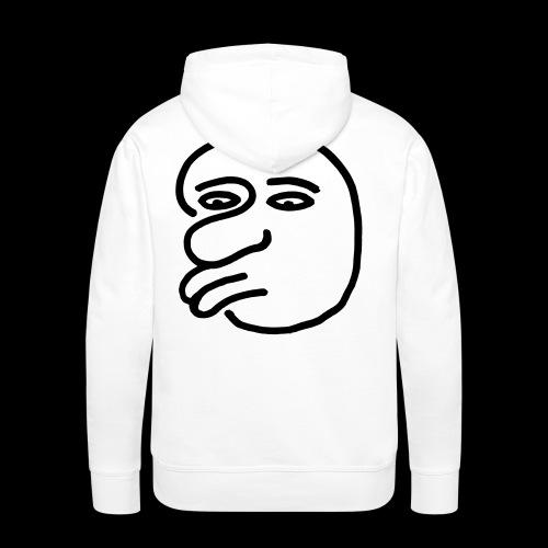 AgainstHumanityface - Männer Premium Hoodie