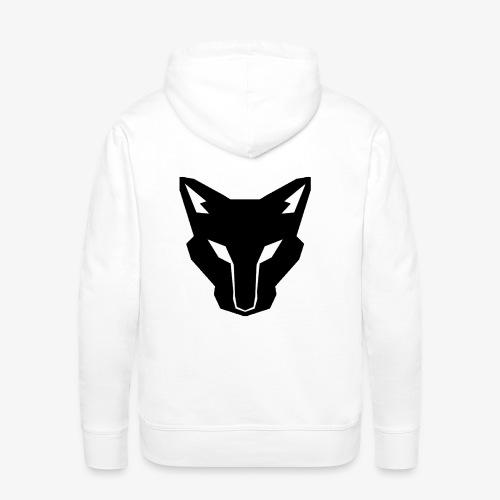 OokamiShirt Noir - Sweat-shirt à capuche Premium pour hommes