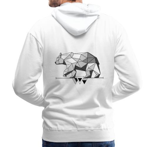Shaded Bear - Men's Premium Hoodie