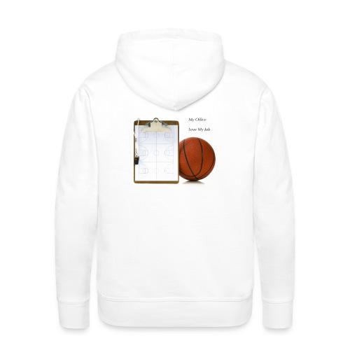 Coach Basket Lifestyle - Sweat-shirt à capuche Premium pour hommes