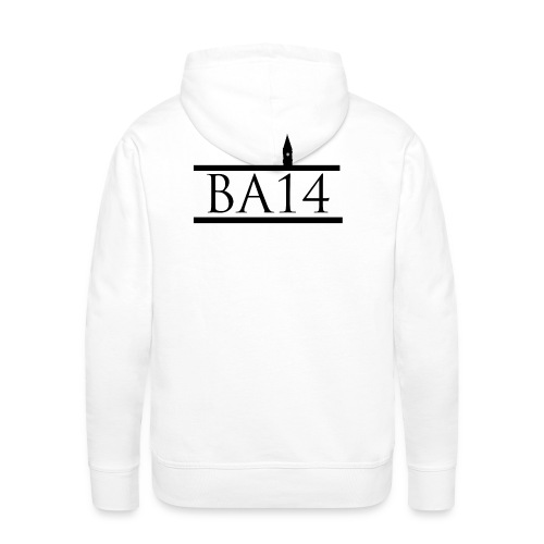BA14 White - Men's Premium Hoodie