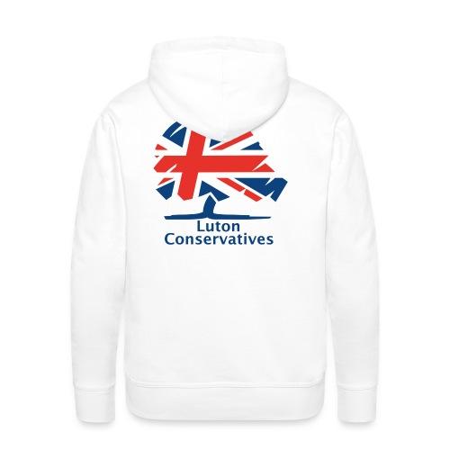 Luton Conservatives Badge - Men's Premium Hoodie