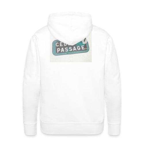 Cédez au PAS/SAGE - Sweat-shirt à capuche Premium pour hommes