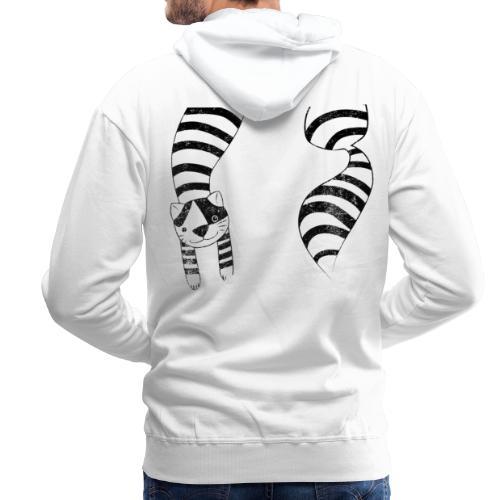 Alice's cat - Sweat-shirt à capuche Premium pour hommes