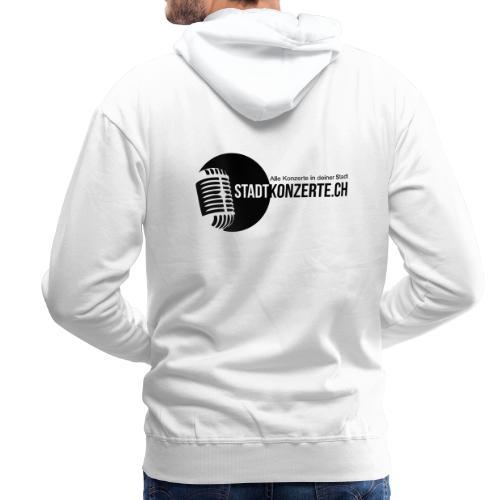 Stadtkonzerte - Männer Premium Hoodie