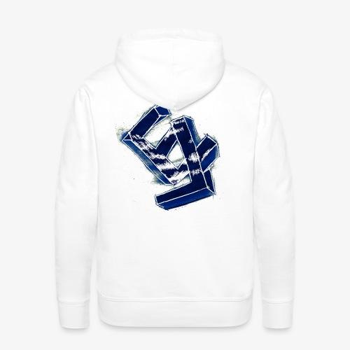 Eletro - Sweat-shirt à capuche Premium pour hommes