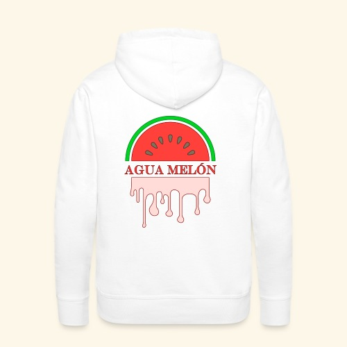 Agua Melón (melonvatten) - Premiumluvtröja herr