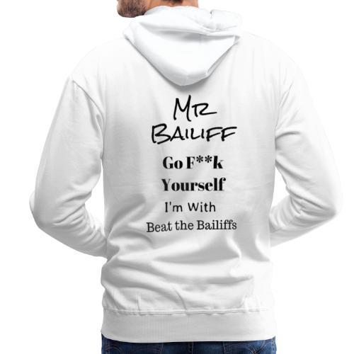 Beat the Bailiffs - Men's Premium Hoodie