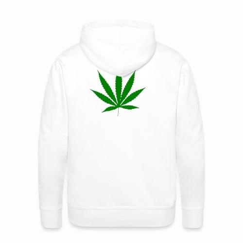 basice weed leaf - Men's Premium Hoodie
