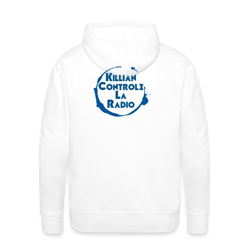 Killian controle la radio Avec le logo - Sweat-shirt à capuche Premium pour hommes