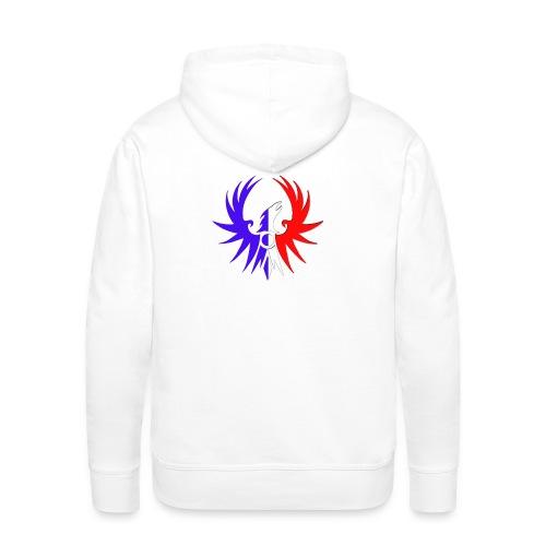 Emblème ATLAS au couleur de notre pays - Sweat-shirt à capuche Premium pour hommes