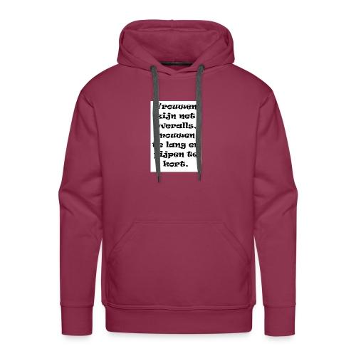 yolo 3 - Mannen Premium hoodie