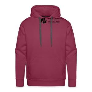Logo_SW - Männer Premium Hoodie