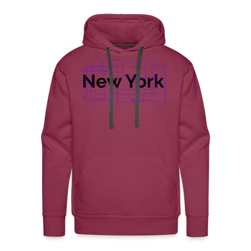 collection New York - Sweat-shirt à capuche Premium pour hommes